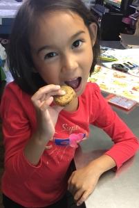 Yummy coffee cookie sandwich
